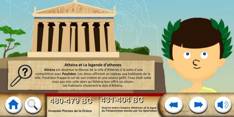 Grèce antique Athena