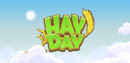 Hay Day application enfant ferme