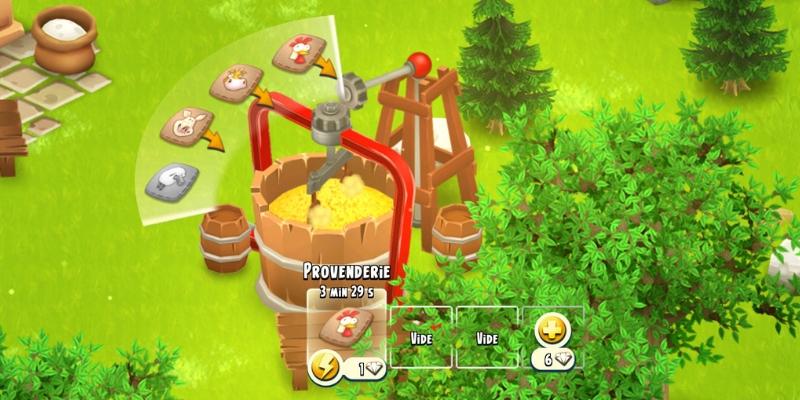 Hay Day tranformation cereales