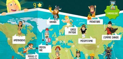 History for Kids application histoire pour enfants