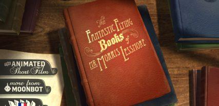 livre interactif Morris Lessmore