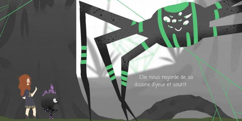 Imagica araignée
