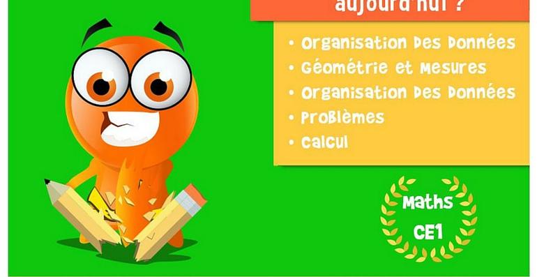 iTooch application Maths CE1