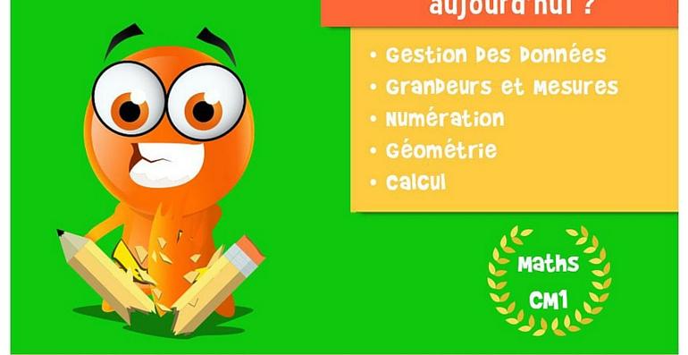 iTooch application Maths CM1