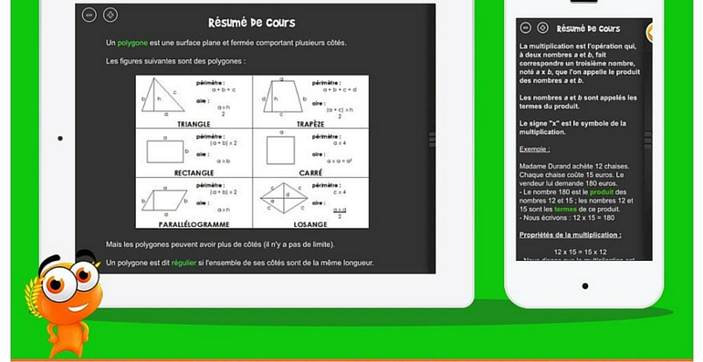 iTooch cours maths CM1