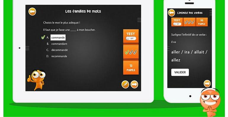 iTooch français CE1 mots