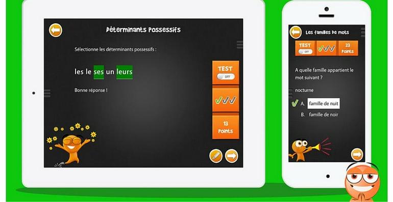 iTooch français CE2 déterminants