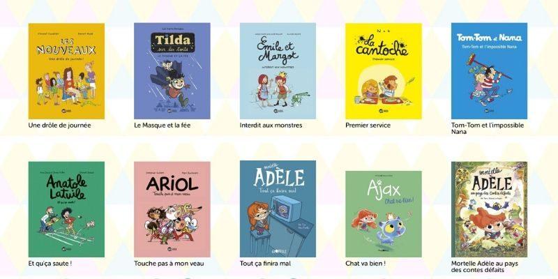 BD du J'aime lire store lecture enfants
