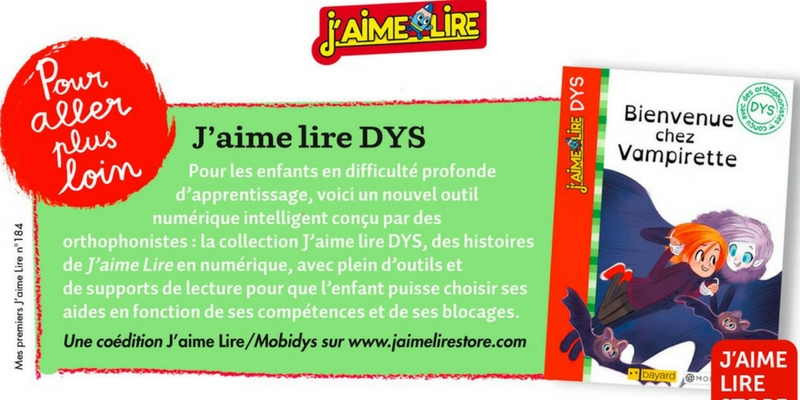 J'aime Lire Dys collection