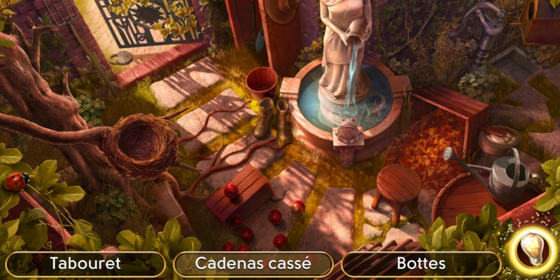 June's journey enquête jardin