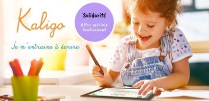 kaligo-enseignant-stylet-cahier-numérique-écolier-solidarité
