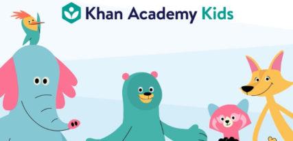 Khan Academy kids app enfant