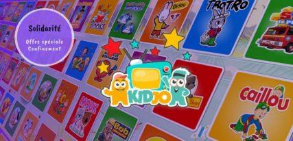 Kidjo TV sur iPad solidarité