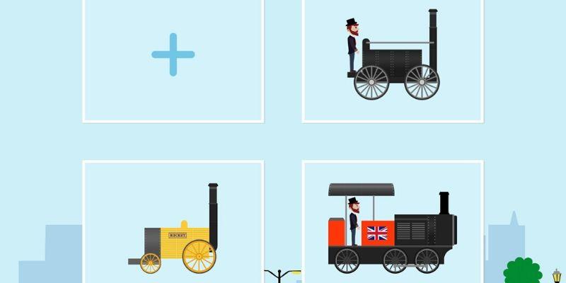 Labo Brick Train locomotive