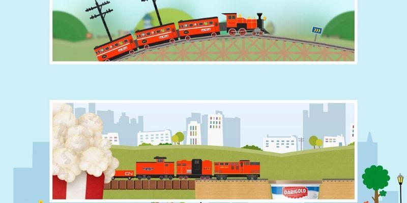 Labo Brick Train parcours