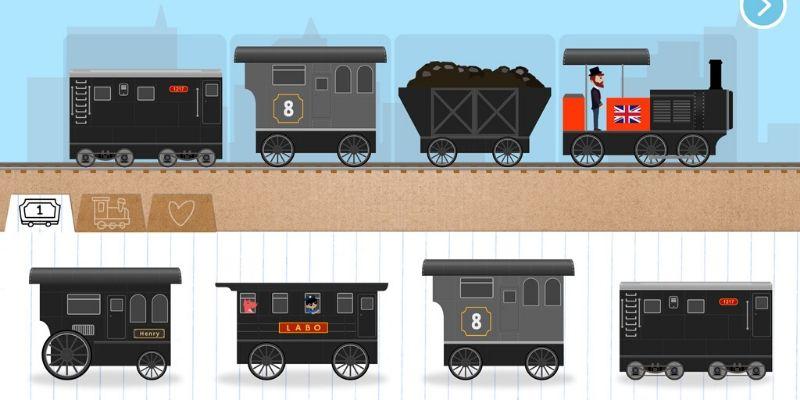 Labo Brick Train wagons