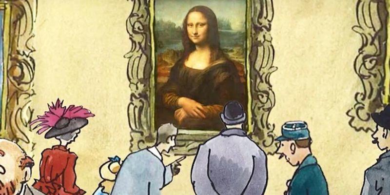 Le Petit Louvre le vol de la Joconde