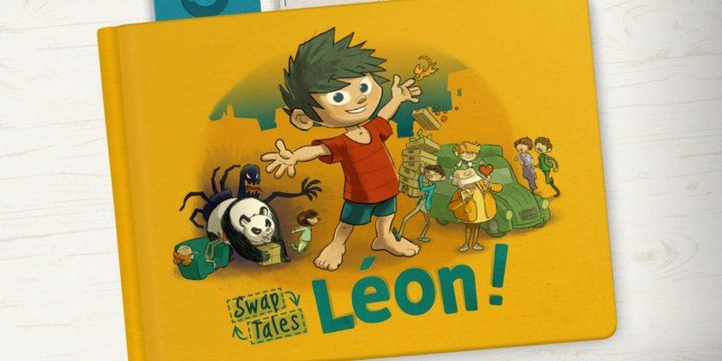 Léon! livre interactif