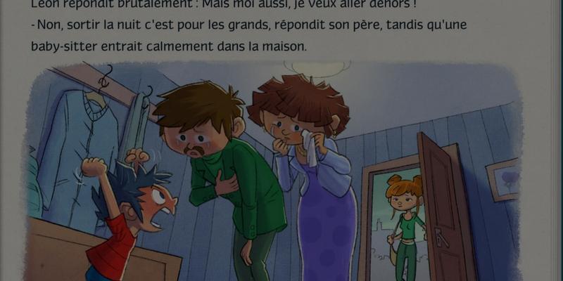 Léon! parents tristes