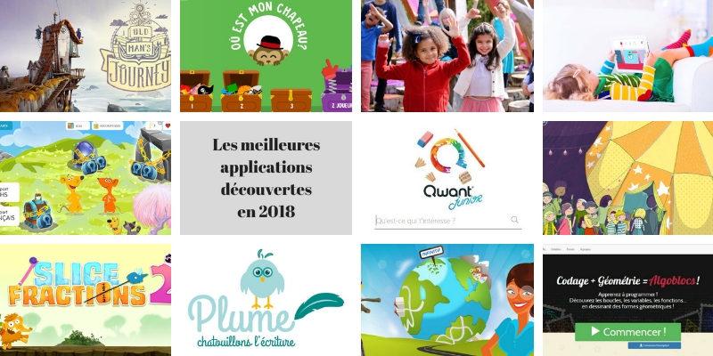 Les meilleures applications enfant découvertes en 2018