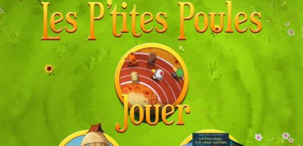 P'tites poules application enfant