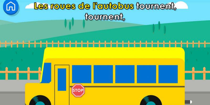 Les roues de l'autobus karaoke
