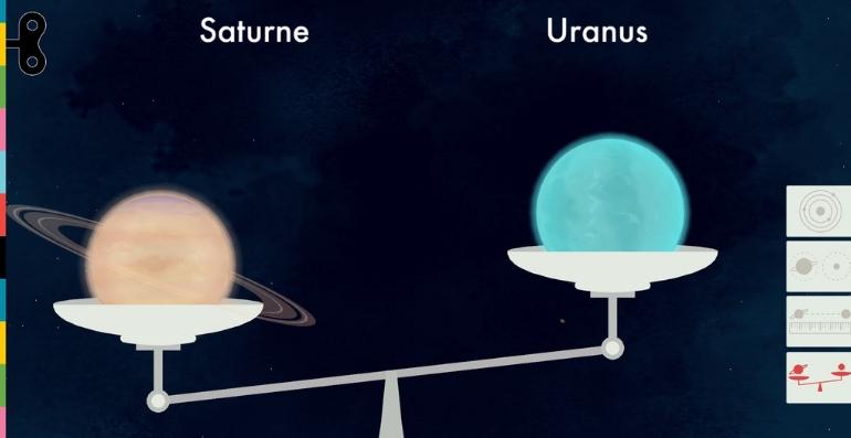 L'espace TinyBop poids planète