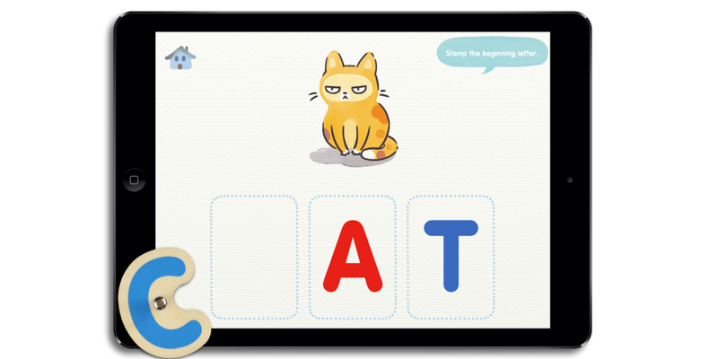 Lil reader application anglais montessori