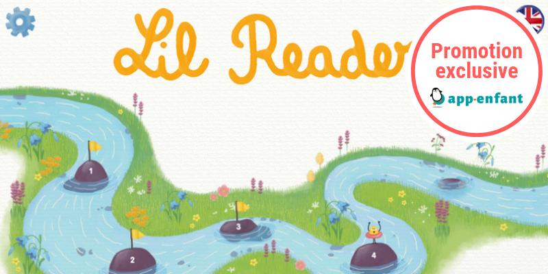 Lil reader application pour apprendre anglais