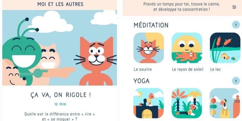 LILI gestion des émotions yoga moi et les autres