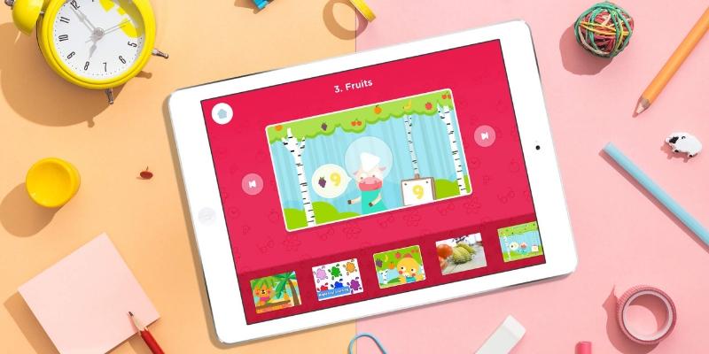 Lingokids apprendre l'anglais iPad