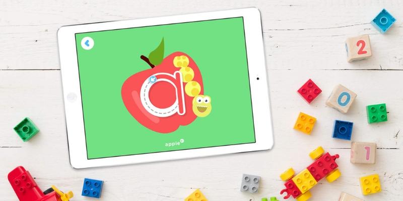 Lingokids apprendre l'anglais pomme