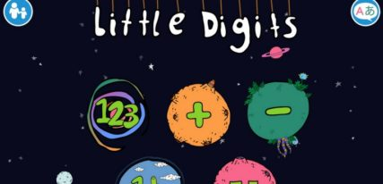 Little Digits application apprendre à compter