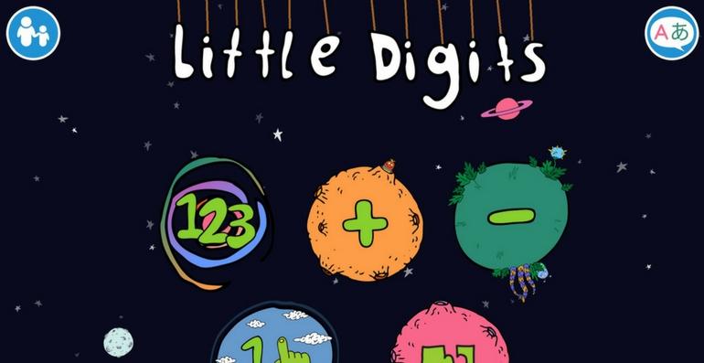 Little Digits application apprendre à compter