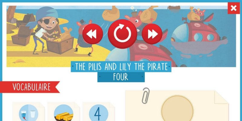 livres immersifs anglais pirates