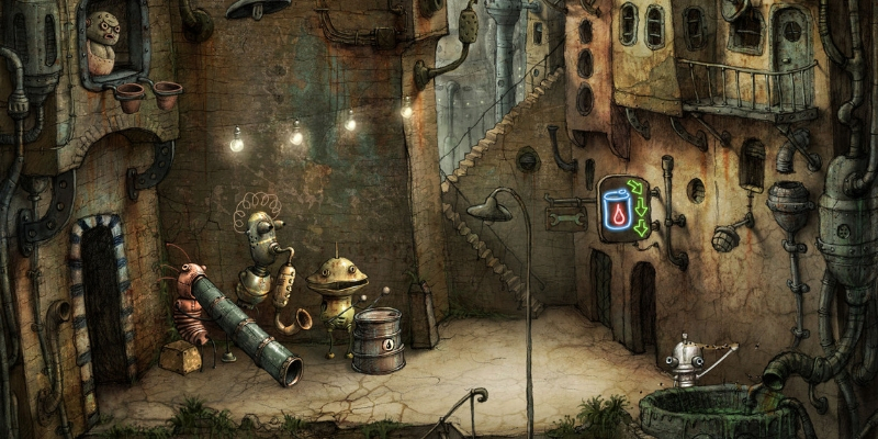 Machinarium application logique