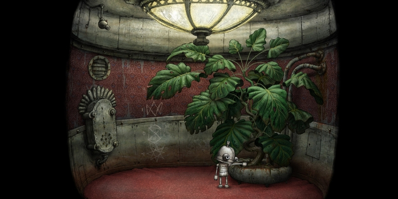 Machinarium application point click