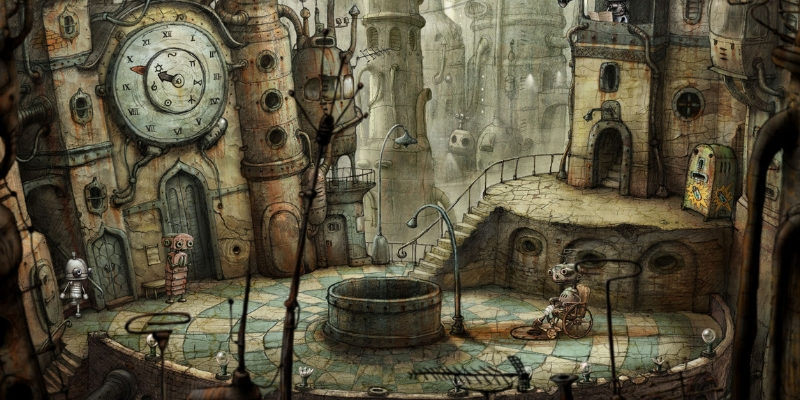 Machinarium application reflexion
