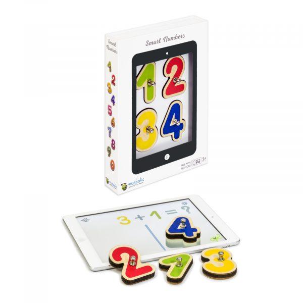 Marbotic packaging Smart Numbers-ipad