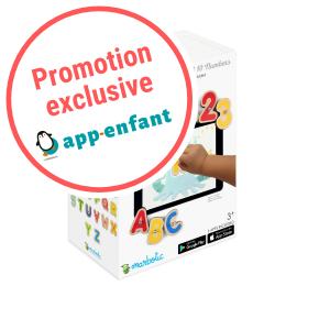 Marbotic Smart kit app-enfant promotion
