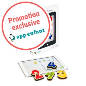 Marbotic smart numbers promotion app-enfant