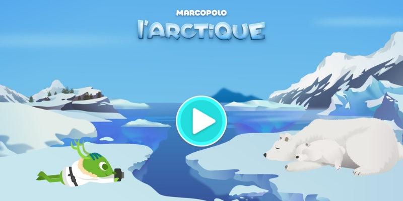 MarcoPolo arctique app gratuite