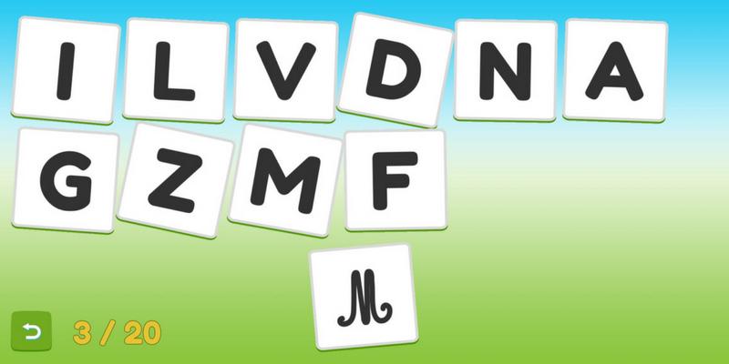 maternelle Servane apprendre les lettres majuscules