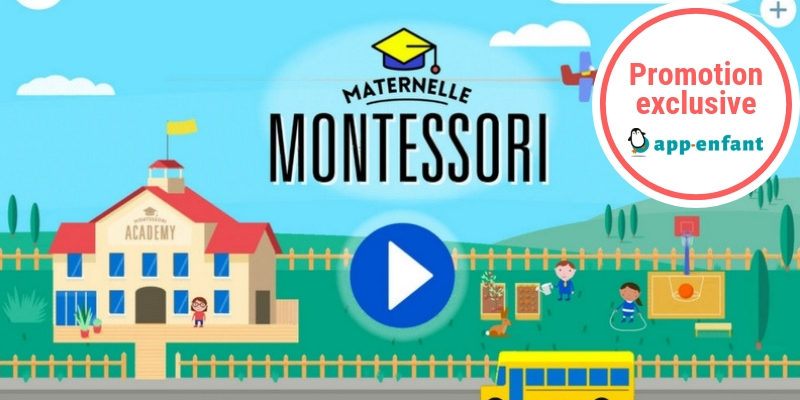 Maternelle Montessori app-enfant