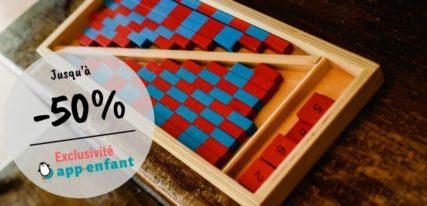 Maternelle Montessori apprendre à compter