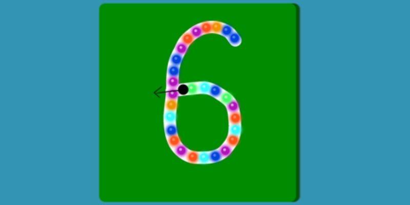 Maternelle Montessori apprendre à compter chiffres rugueux