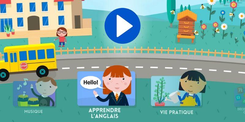 Maternelle Montessori apprendre une langue etrangere anglais