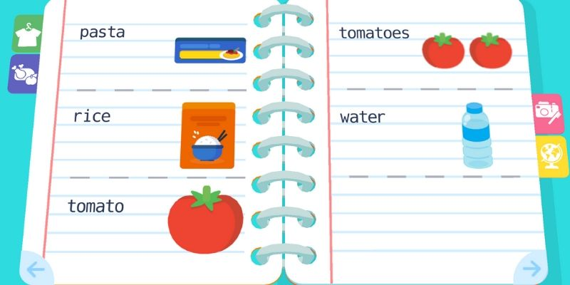 Maternelle Montessori cahier anglais courses