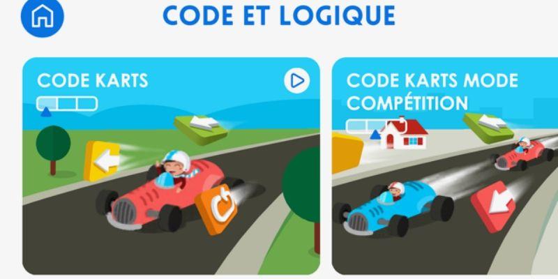 Maternelle Montessori code karts code pour les enfants