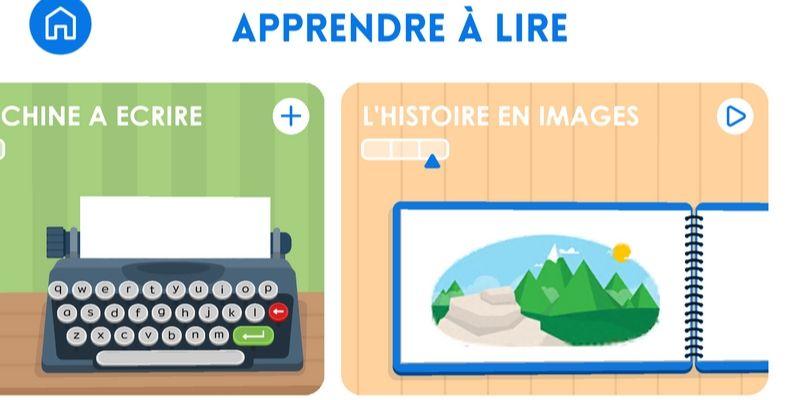 Maternelle Montessori lecture histoire en image